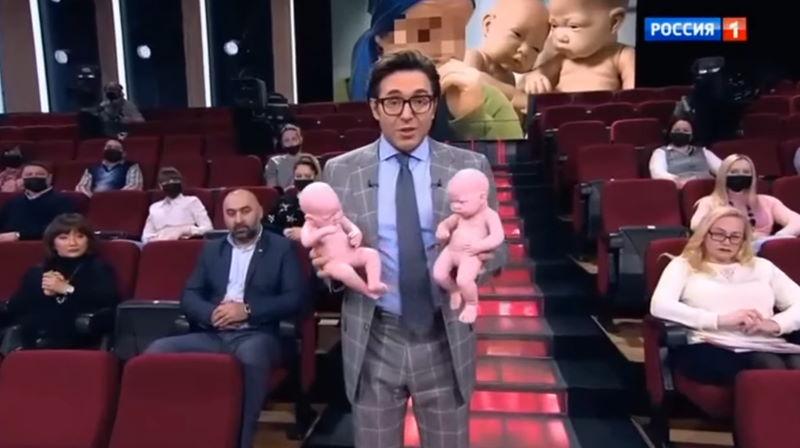 Андрей Малахов.Прямой эфир 15.02.2021 – Похоронили кукол вместо детей: муж с женой расскажут правду